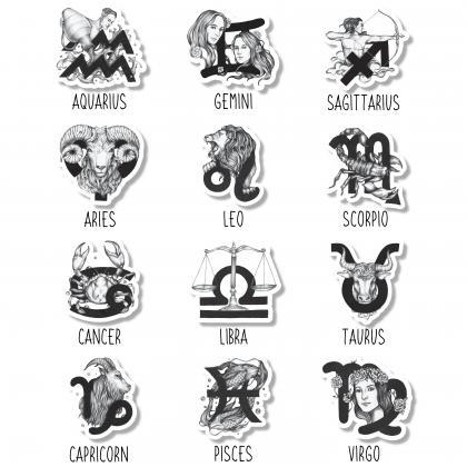 Horoscope Sticker | Water Bottle St..