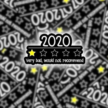 2020 Sticker | Yelp Sticker | Lapto..