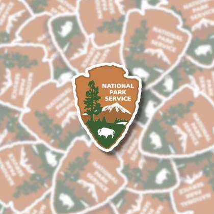 National Park Service Sticker | NPS..