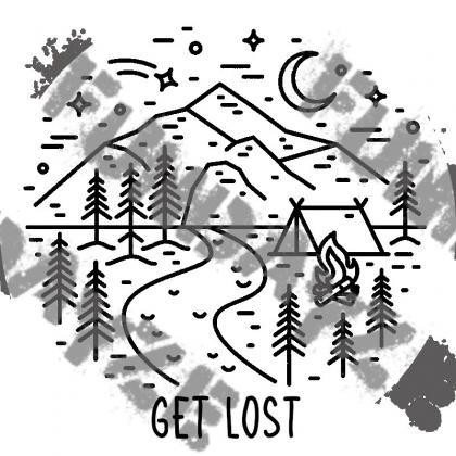 Get Lost Sticker | Outdoor Sticker ..